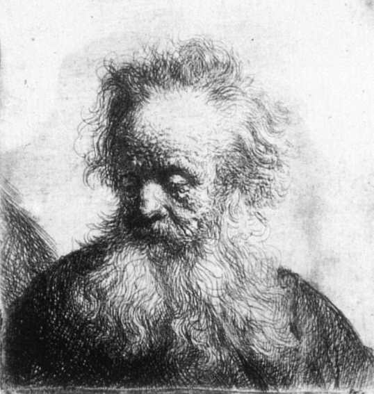 old-man-with-flowing-beard-looking-down-left