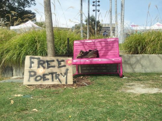 """Free Poetry"" © 2014 Bill Friday"