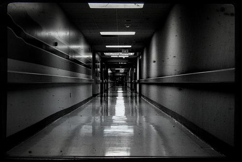 hospital basement