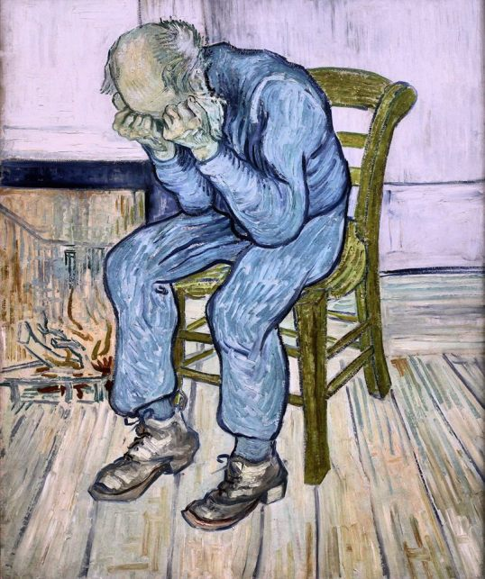 Sorrowing Old Man (At Eternity's Gate) Vincent Van Gogh