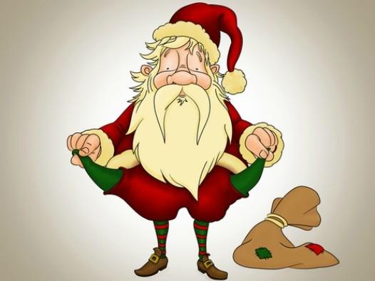 broke-santa
