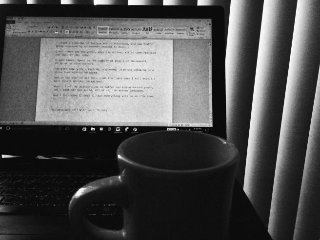 coffee and midafternoon panic